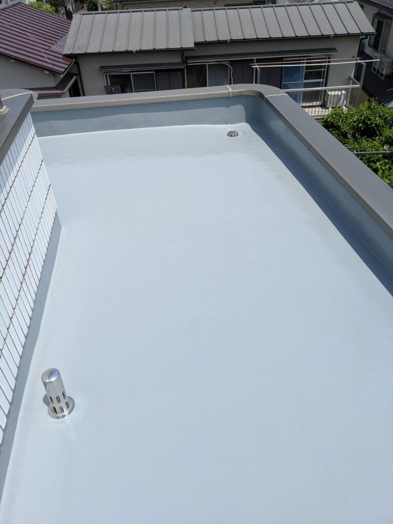杉並区住宅ウレタン防水通気緩衝工法
